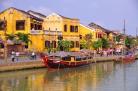 Streets of the city Hoi An World Heritage Stock photo [2456209] Hoi