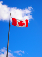 Canada flag Stock photo [2457352] Kanata