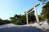 Ise Shrine Uji Bridge torii of Stock photo [2460755] Grand