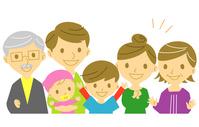 Family smile illustrations [2461153] Family