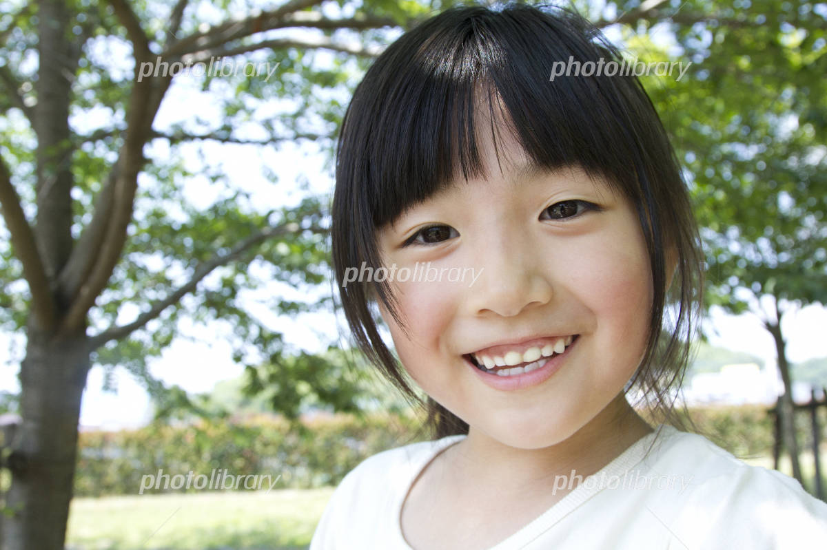 Girl smile Photo