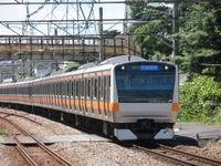 Center line E233 system Stock photo [2579553] Center