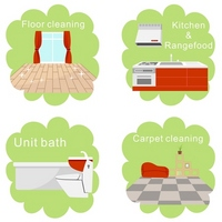 House cleaning icon [2584476] House