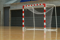 Handball goal post Stock photo [2589457] Handball