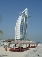 Burj Al Arab Hotel in Dubai Stock photo [75455] Dubai