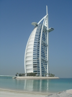 Burj Al Arab Hotel in Dubai Stock photo [75457] Dubai