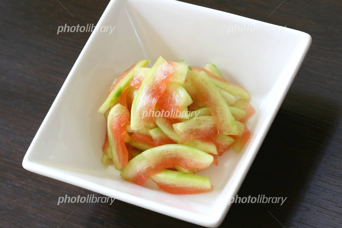 Pickled skin of watermelon Photo