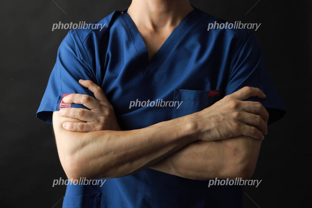 massage arms to arms folded Photo