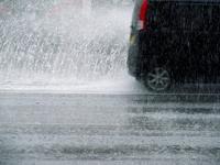 I water the car in the rain Stock photo [2681664] Heavy