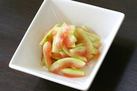 Pickled skin of watermelon Stock photo [2682010] Watermelon