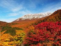Oyama of autumn leaves from Kagikaketoge Stock photo [2684847] Big