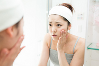 Woman to cleansing Stock photo [2687065] Acne