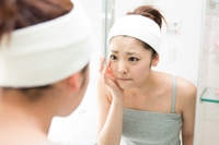 Woman to cleansing Stock photo [2687059] Acne