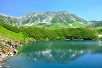 Summer of Oyama and Mikurigaike Stock photo [2689199] Pool