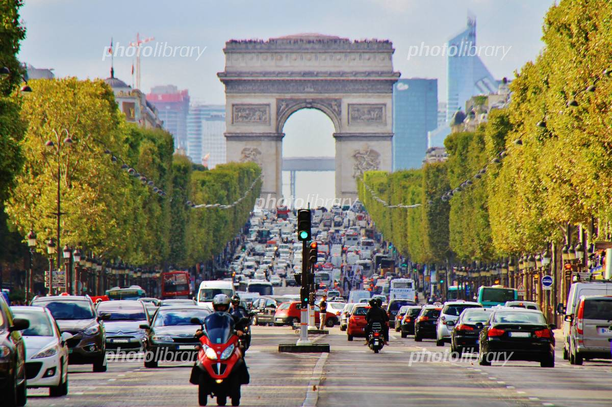 Champs-Elysees Photo