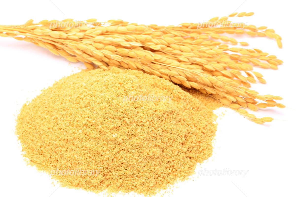 Rice bran Photo