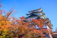 Autumn of Nagoya Castle Stock photo [2769763] Nagoya