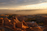 World Heritage Cappadocia of sunrise and balloon Stock photo [2770642] World