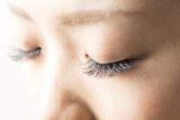 Of extension eyelashes eyes Stock photo [2852902] MU
