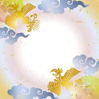 Japanese Pattern Phoenix celebrate [2855403] Japanese