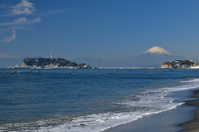 Mt. Fuji and Enoshima Stock photo [2855606] In