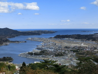 Kesennuma (from Aha mountain summit) ※ 5 月 年 2013 Stock photo [2856085] Kesennuma