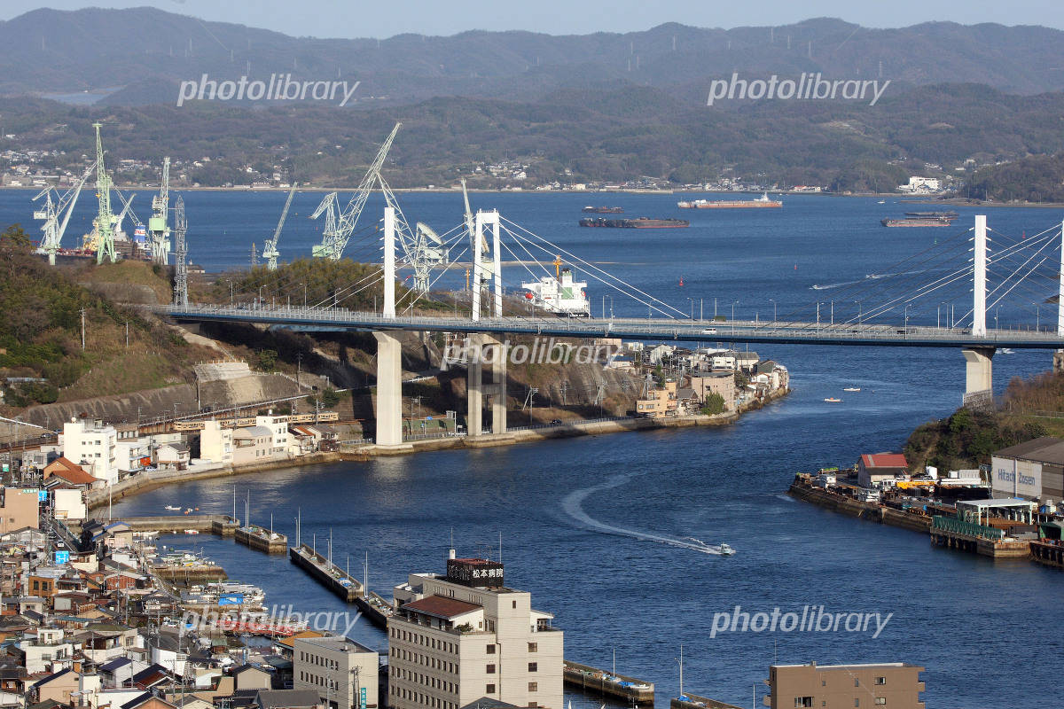 Shin'onomichi Ohashi and Seto Inland Sea Photo