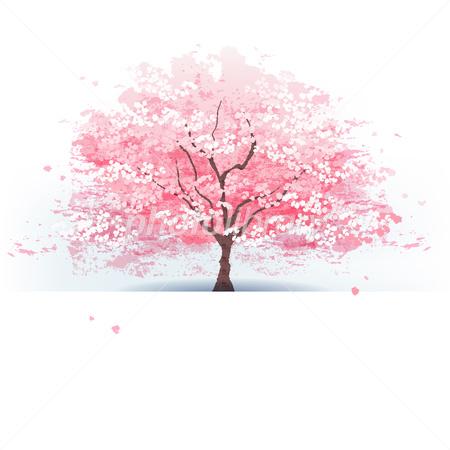 桜の木 イラスト素材 2942419 フォトライブラリー Photolibrary