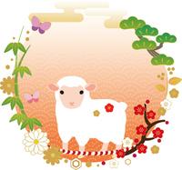 Sheep of glamorous New Year material [2931669] Sheep