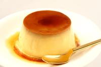 Pudding white background Stock photo [2936726] Pudding