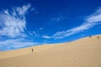Summer of sand dunes. Stock photo [2937380] Tottori