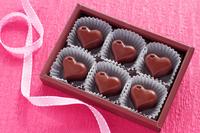 Heart of chocolate Valentine's Day Stock photo [2940400] Valentine's
