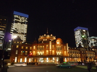 2012 Tokyo station building sunset Stock photo [2941874] Tokyo