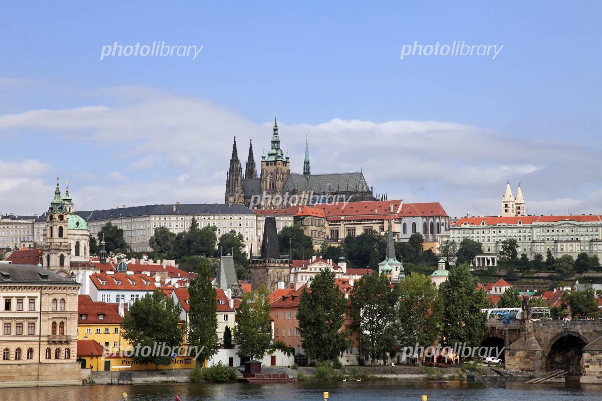 Czech Republic Prague Castle and the city Photo