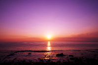 Izu of beautiful sunrise (seaside Asahi, Chaoyang) Stock photo [3017044] Morning