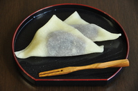 Kyoto Souvenir unbaked yatsuhashi Stock photo [3019212] Japan