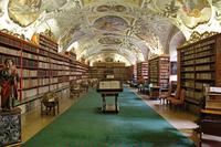 Strahov Monastery Czech Prague Stock photo [3021552] Prague