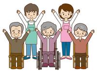 Nursing home elderly exercise [3023521] For