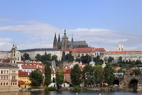 Czech Republic Prague Castle and the city Stock photo [3025521] Prague