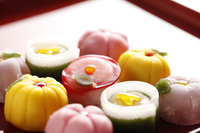 Japanese-style confection Stock photo [3025561] Japanese-style