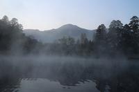 Of Yufuin gold scales Lake Oita morning mist Stock photo [3026039] Oita