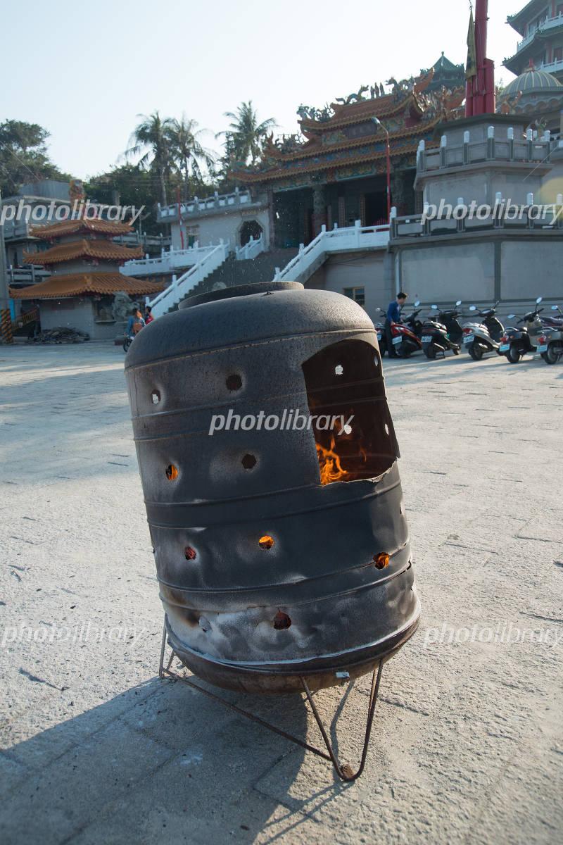 焼却炉の写真