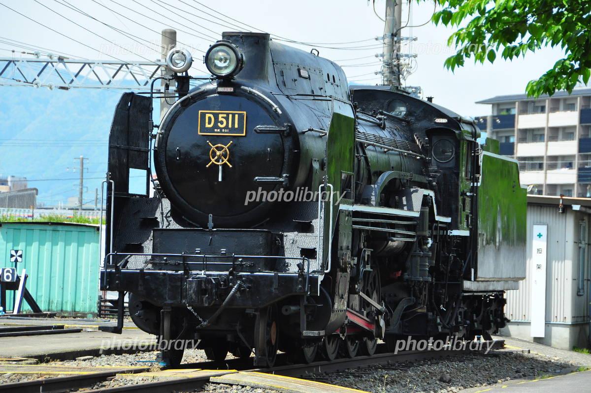 梅小路蒸気機関車館 D51形蒸気機関車の写真