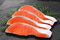 Silver salmon fillets Stock photo [3100311] Silver