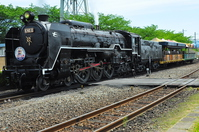 Plum alley steam locomotive building steam locomotive Stock photo [3108934] Kyoto