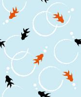Seamless pattern goldfish [3198911] Goldfish