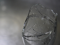 Glass that is cracked Stock photo [3202271] Glass