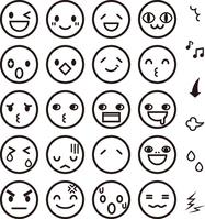 Funny facial expression icon [3204109] Face