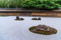 Ryoanji Temple rock garden Stock photo [3205884] Ryoanji