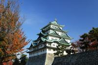 Autumn of Nagoya Castle Stock photo [3205901] Autumn